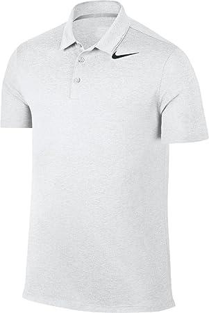 Nike Respirar Heather Hombres Polo de Golf (Lobo Gris, 2XL ...