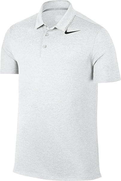 Nike Mens Respirar Heather Golf Polo (Lobo Gris, pequeño): Amazon ...
