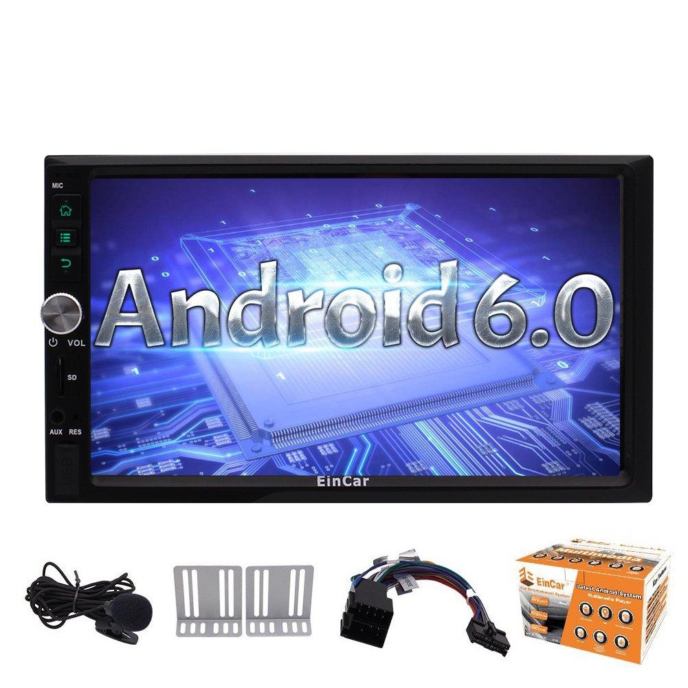 Android 6.0 EST/¨/¦reo del Coche Doble DIN en el Tablero de navegaci/¨/®n GPS Autoradio Bluetooth 4.0 EST/¨/¦reo WiFi 4G 3G OBD2 HD de 7 Pulgadas Multi-Pantalla t/¨/¢ctil Unidad Principal OBD2 USB SD Dab