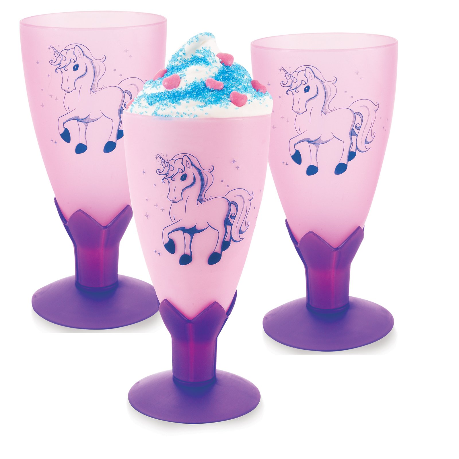 BirthdayExpress Enchanted Unicorn Party Supplies - Goblets (8) by BirthdayExpress