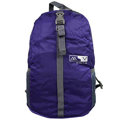 ed9fab90b0d Ultra Lightweight Packable Travel Foldable Daypack Durable Travel Backpack  (Purple): Amazon.ca: Luggage & Bags