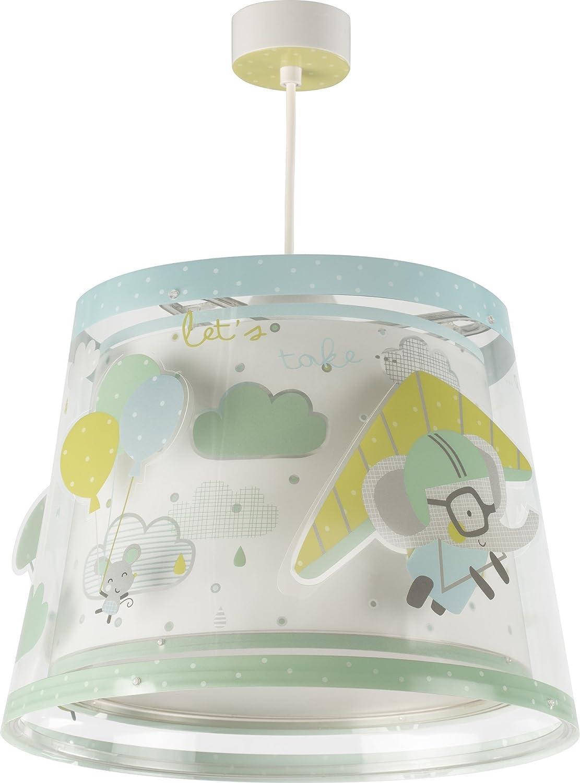 Dalber A Little Trip Lámpara Infantil Colgante, Multicolor 81782