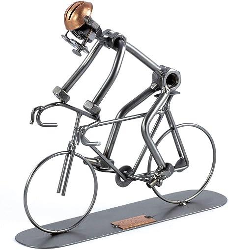 Steelman24 I Bicicleta De Carreras I Made in Germany I Idea para Regalo I Figura de metalo