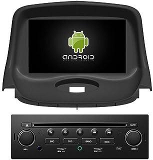 roverone Android Sistema 7 Inch Autoradio GPS para PEUGEOT 206 206 CC, 206SW con navegación