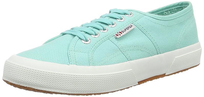 Superga 2750 Cotu Classic Sneakers Low-Top Unisex Damen Herren Grün (Green Aqua)