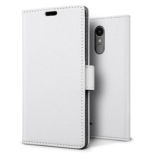 15 opinioni per Custodia LG K8 2017, SLEO [Premium Portafoglio Protettiva] Wallet Cover LG K8