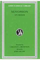 Xenophon: Anabasis (Loeb Classical Library) (English and Greek Edition) Hardcover