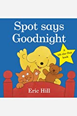 Spot Says Goodnight (Fun with Spot) Board book