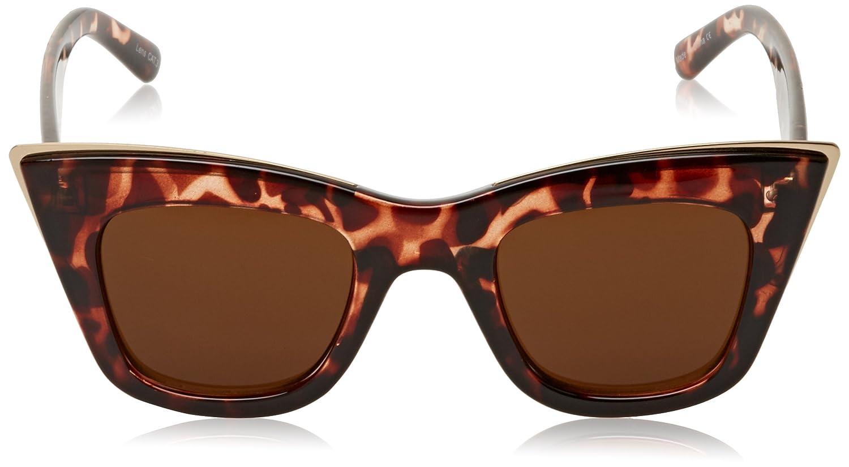 Quay Eyewear Damen Sonnenbrille Love Child, Braun (Tortoiseshell/Brown), 152