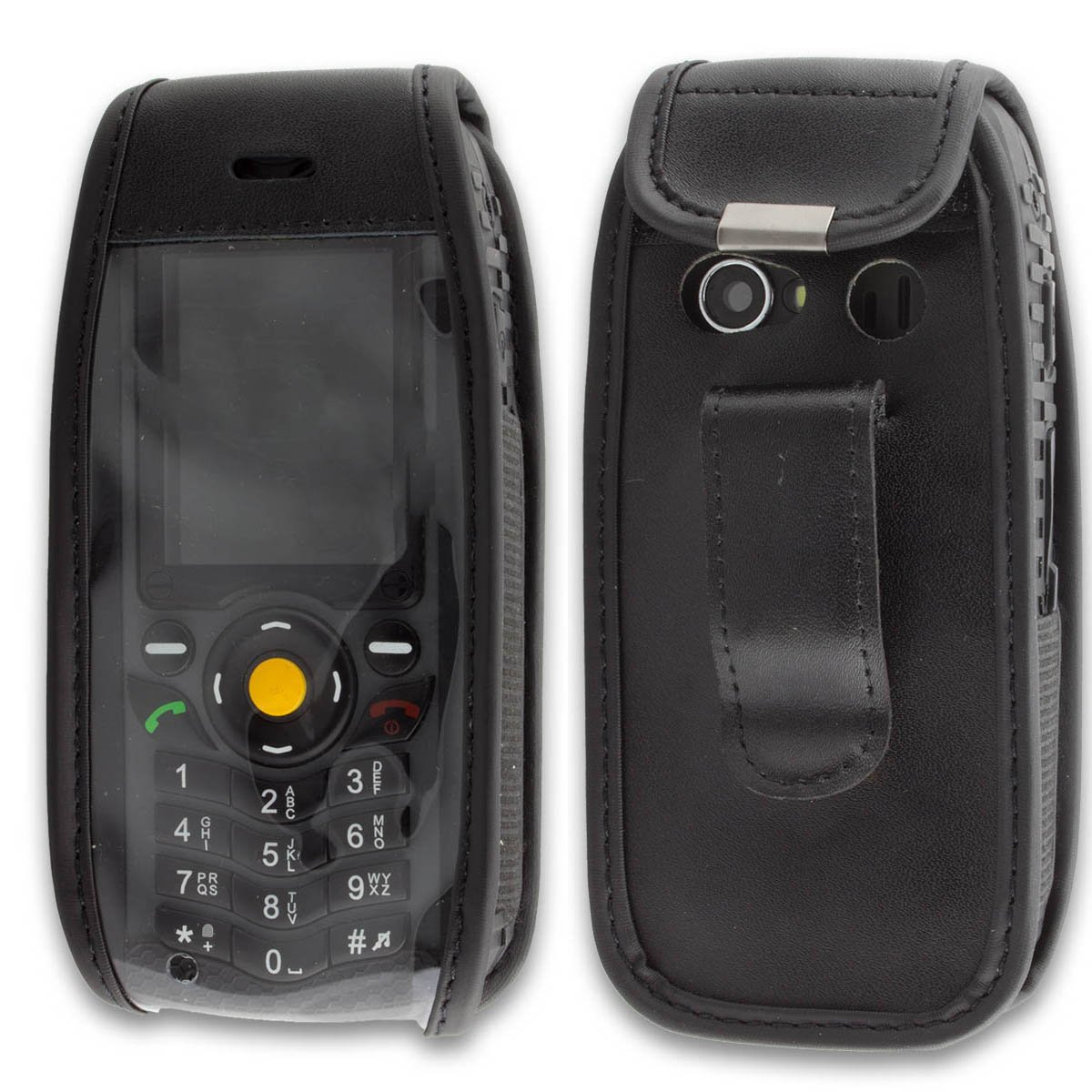 Jcb tradesman 2 tough mobile phone onedirect co uk - Caseroxx Leather Case With Belt Clip For Cat B25 Made Of Real Leather With Belt