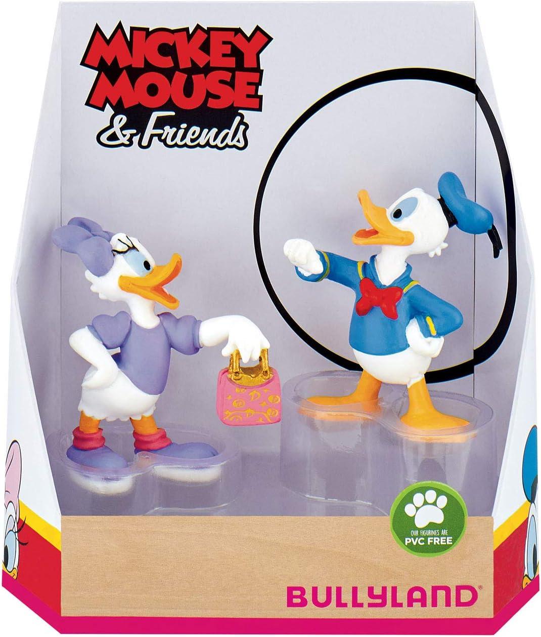 Bullyland 15084 - Juego de Figuras de Mickey Mouse de Walt Disney (Figuras pintadas a Mano, sin PVC, niños y niñas): Amazon.es: Juguetes y juegos