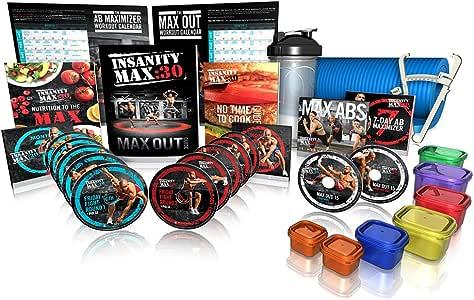 Beachbody Shaun T's Insanity MAX:30 Deluxe Kit - DVD Workout