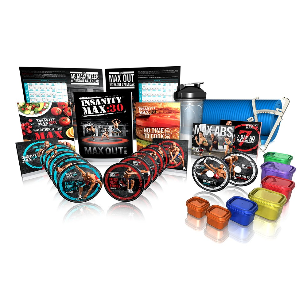 Shaun T's INSANITY MAX:30 Deluxe Kit - DVD Workout by Beachbody (Image #1)
