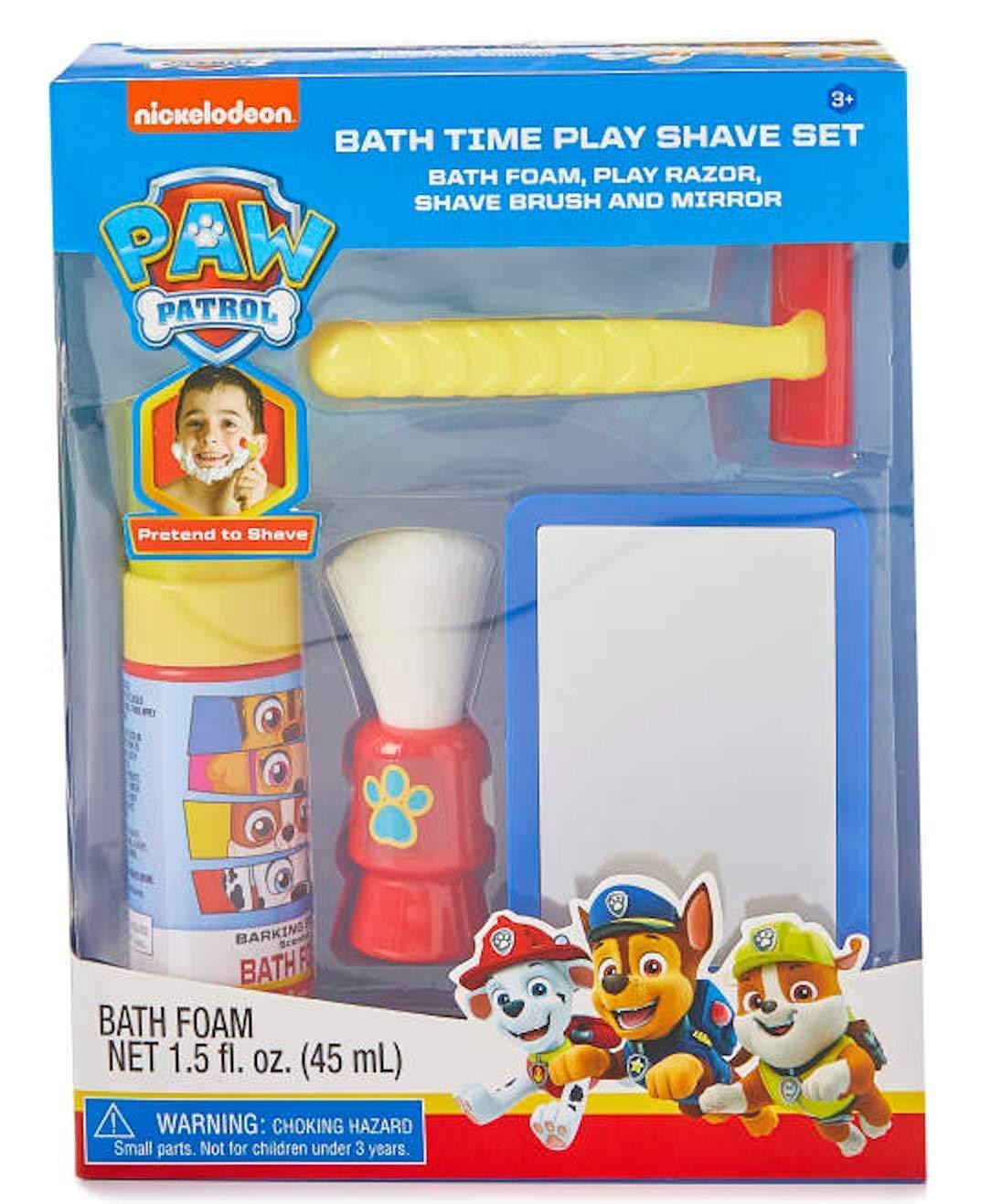 Amazon Com Nickelodeon Paw Patrol Bath Time Shave Set Baby