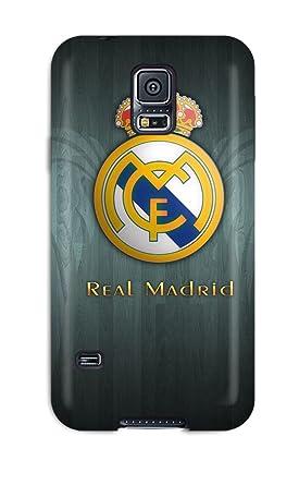 Amazon.com: Awesome Design Real Madrid Fc Logo Hard Case ...