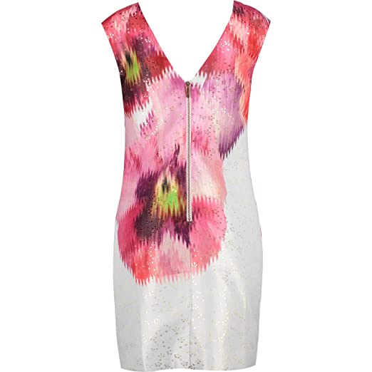 73ee43c04 Ted Baker Diliani Expressive Pansy Tunic Dress (05 - Grey