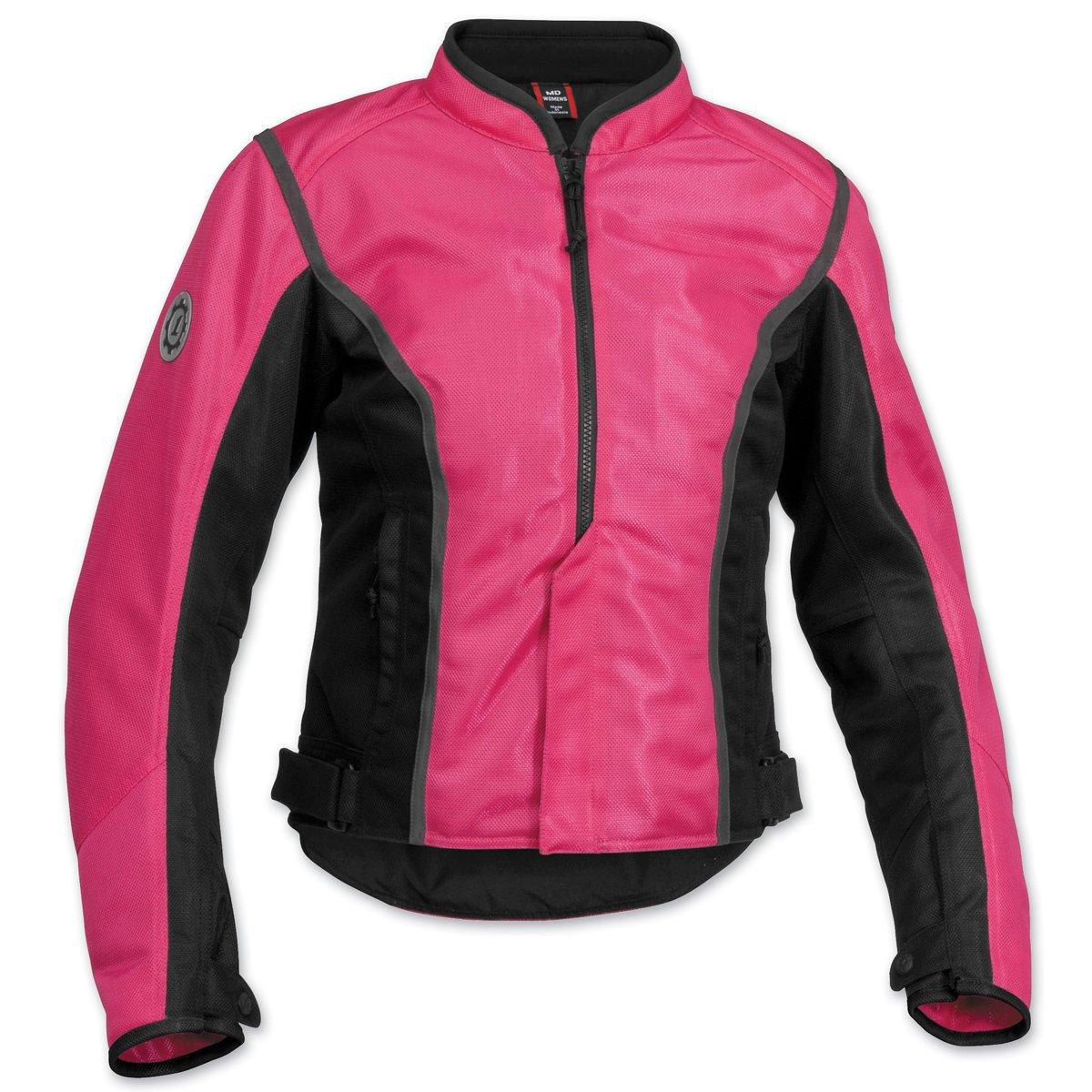 Firstgear Women's Contour Mesh Pink/Black Jacket, XL
