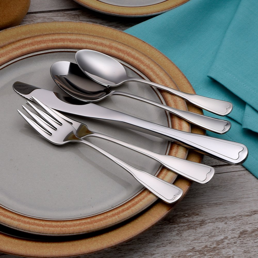 Liberty Tabletop Richmond 20 Piece Flatware Set service for 4 stainless steel 18/10 Made in USA by Liberty Tabletop (Image #8)