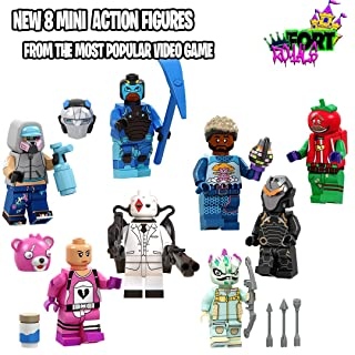 New Mini Toy Figures Set- Heroes from Fort Battle Royal- Gift for Boys and Girls (New 8 Heroes) 2019