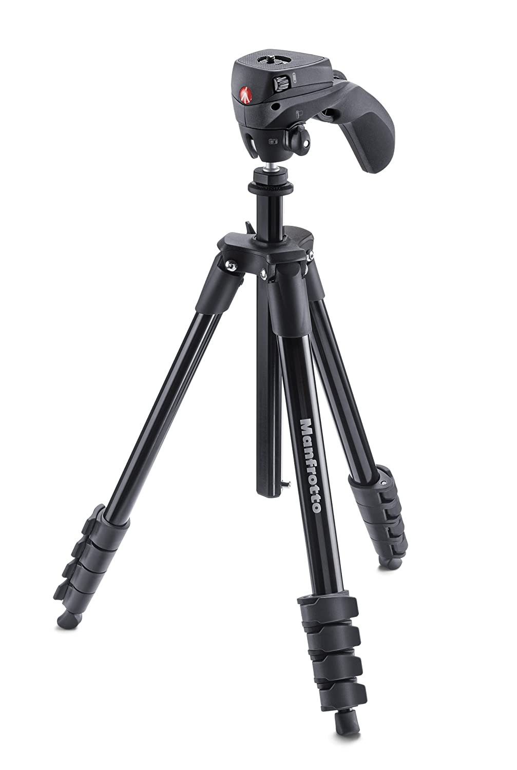 Manfrotto Compact Action Trípode completo negro