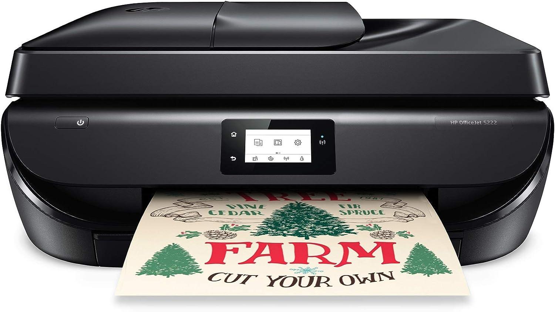 HP OfficeJet 5222 All-in-One Wireless Color Inkjet Printer