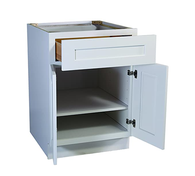 design house 561357 brookings 21 inch base cabinet white shaker rh amazon in 21 inch base cabinet drawer 21 inch base cabinet weight