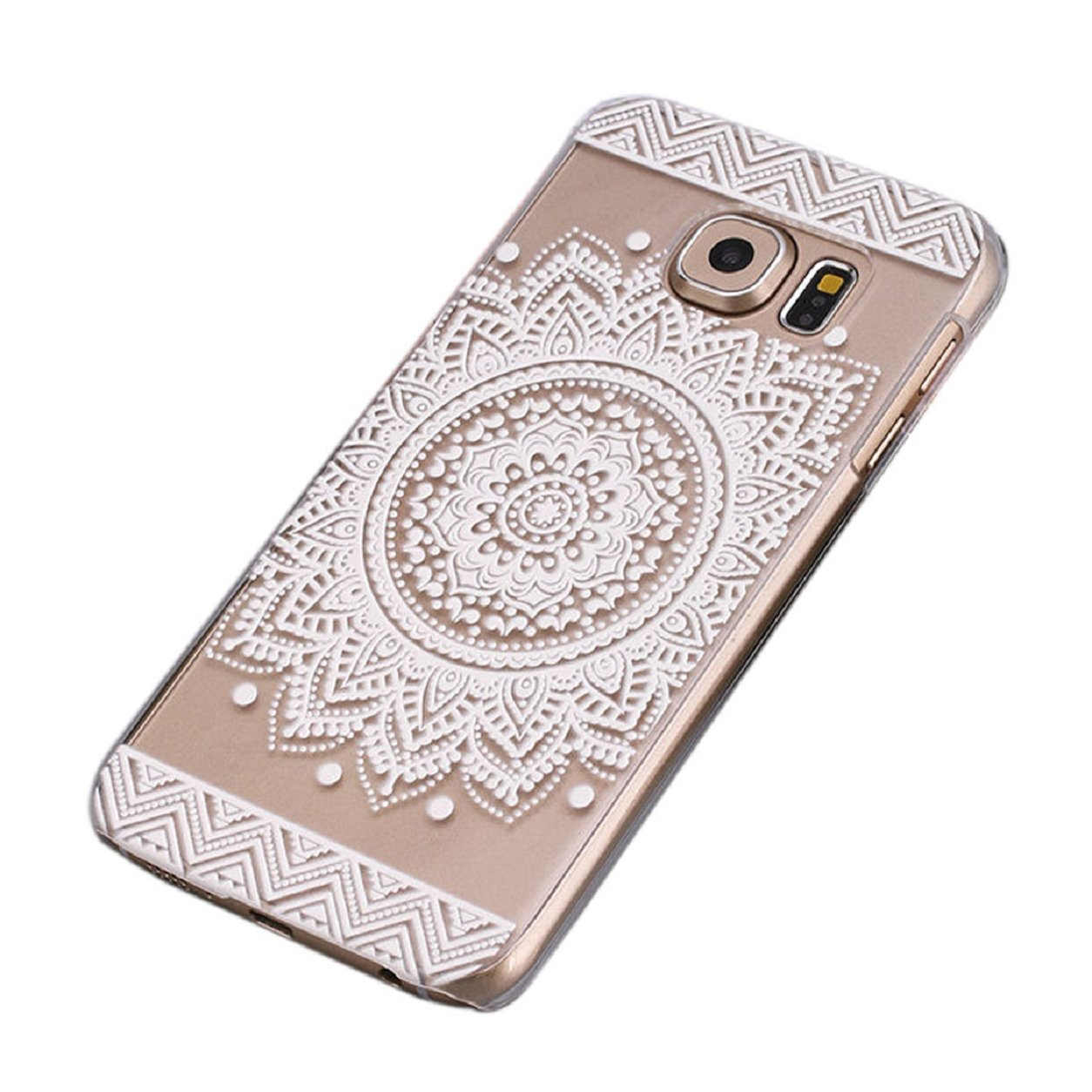 samsung galaxy s6 phone cases for girls. malloom® samsung galaxy s6,campanula mandala floral dream catcher case cover: amazon.co.uk: electronics s6 phone cases for girls g