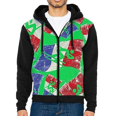 Alpine Skiing Flag Of France Men Full Zip Original Fit Sweatshirts All Over Print Long Sleeve Jacket Hoodies