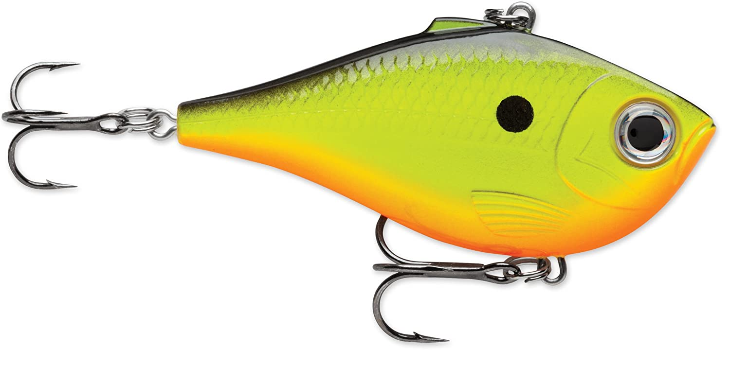 Rapala rippin 39 rap 07 fishing lure chartreuse for Chartreuse fishing lure