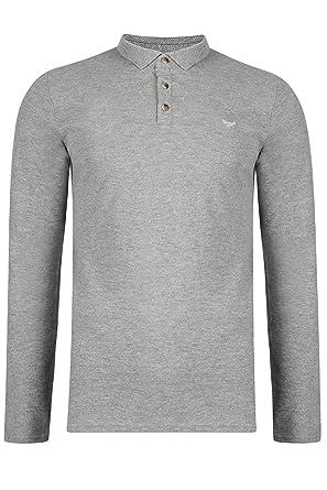 Threadbare Camiseta de Manga Larga - Camisa - Básico - con Botones ...