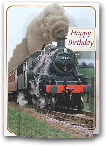 Feliz cumpleaños – Motor de Vapor – tren – Locomotora ...
