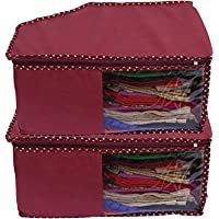 Kuber Industries Non Woven Blouse Cover Set, Maroon