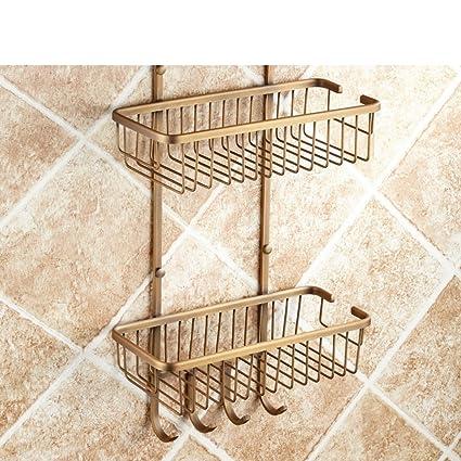 Amazon.com: HUIJNJIY Corner Shower Racks,Bathroom Racks,Bathroom ...