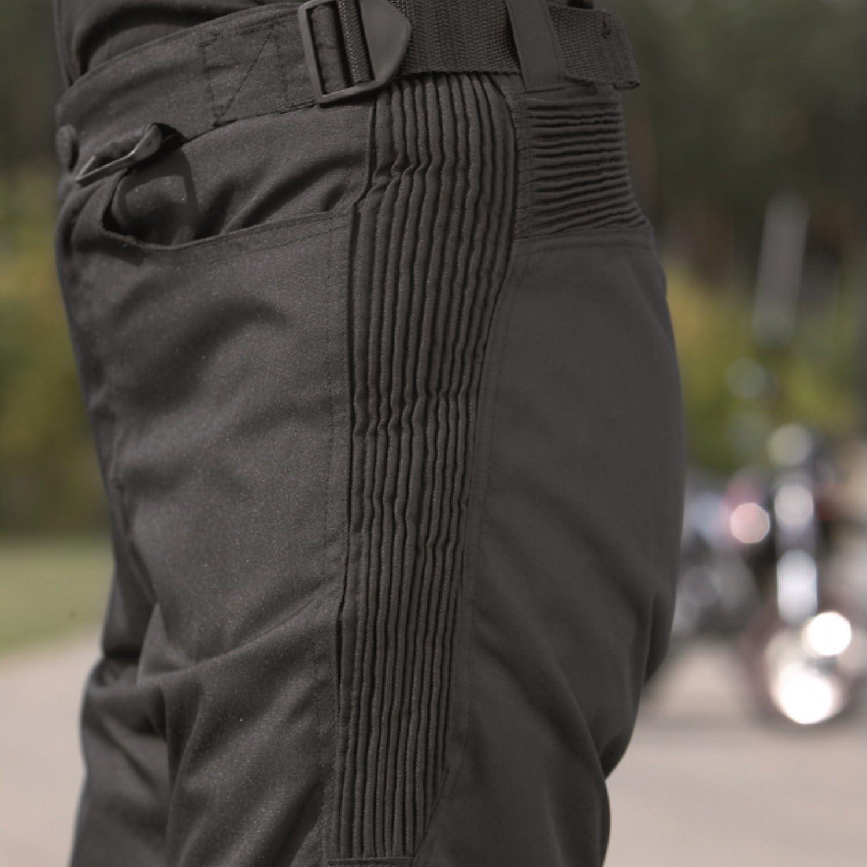 Noir XL Germas Highway II Pantalon Large en Stretch