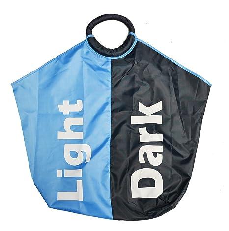 Amazon.com: Luz y oscuridad Divided Bolsa para la colada ...