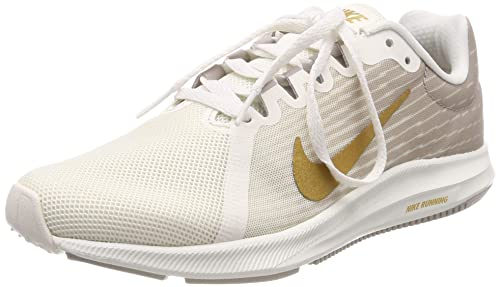 ab566d335f854 Nike Women s WMNS Downshifter 8 Phntm M.Gold-Moon Particle Running Shoes-