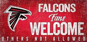 Fan Creations N0847-ATL Atlanta Falcons Fans Welcome Sign, Multi