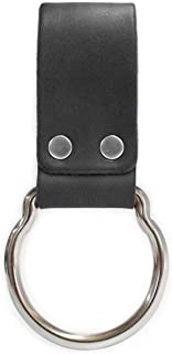 product image for American Bench Craft Leather D-Cell Flashlight Belt Holder fits MAGLITE (Black)