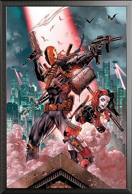 DC Comics – Póster de Dead Shot & harley Quinn Suicide Squad ...