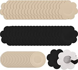 Syhood Nipple Breast Covers Disposable Breast Pasties Adhesive Nipple Covers (60)
