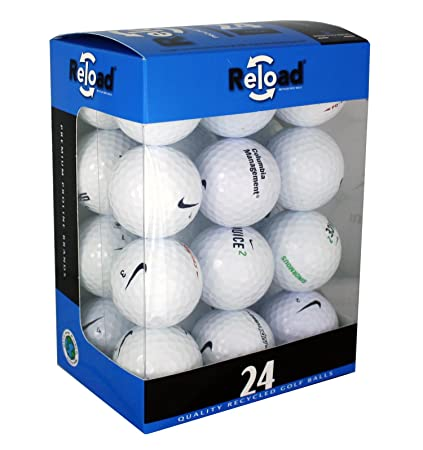 561259e673db Amazon.com   Reload Recycled Golf Balls (24-Pack) of Nike Golf Balls    Sports   Outdoors
