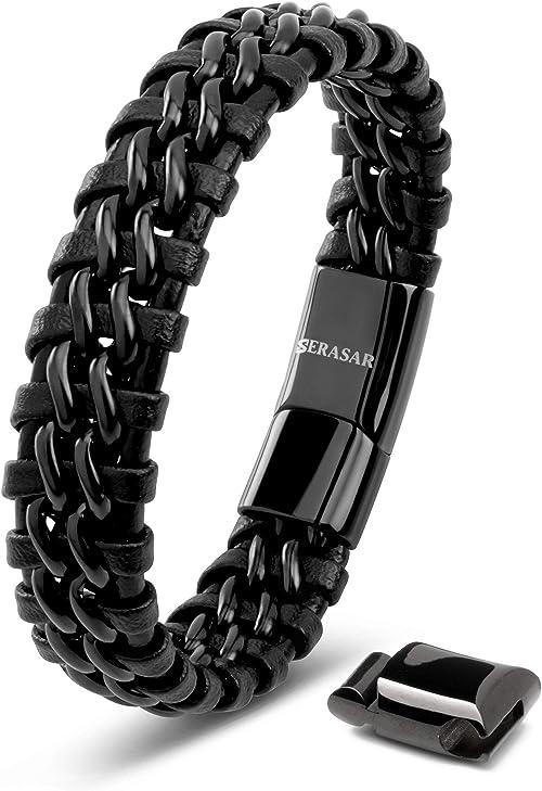 Bracelet Leather Man
