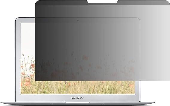 Amazon Basics Schlanker Magnetischer Blickschutzfilter Für 13 Zoll 33 Cm Macbook Air 2017 Bürobedarf Schreibwaren