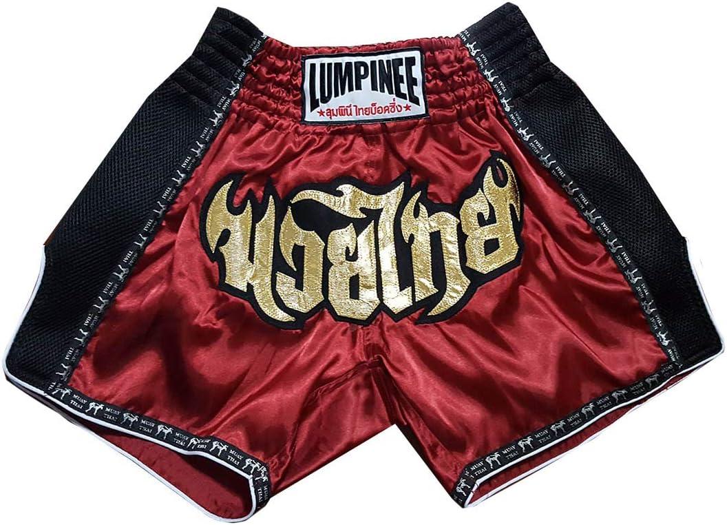 LUMRTO-003 Lumpinee Kanong Muay Thai Kick Boxeo Pantalon Shorts