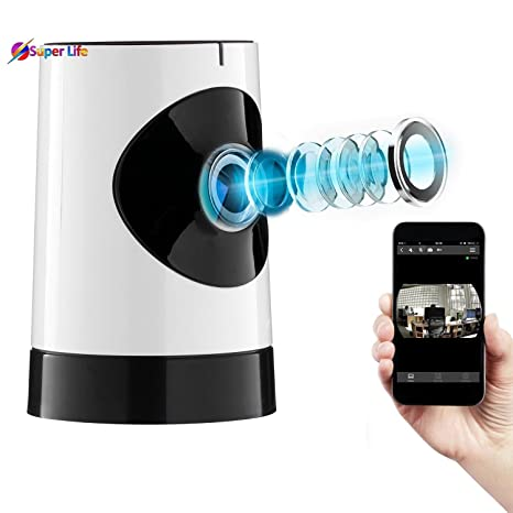 Buy spy camera Mini 360 Degree Wireless HD Fisheye IP Camera