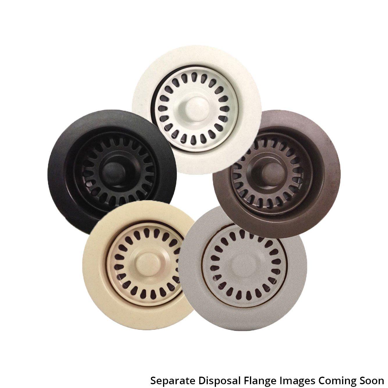 Lexicon Color Matched Disposal Flange - Concrete