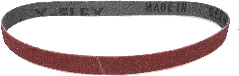 71111 K/örnung: P80 Klingspor CS 310 XF Schleifband//Feilenband 10 x 330 mm 25 St/ück