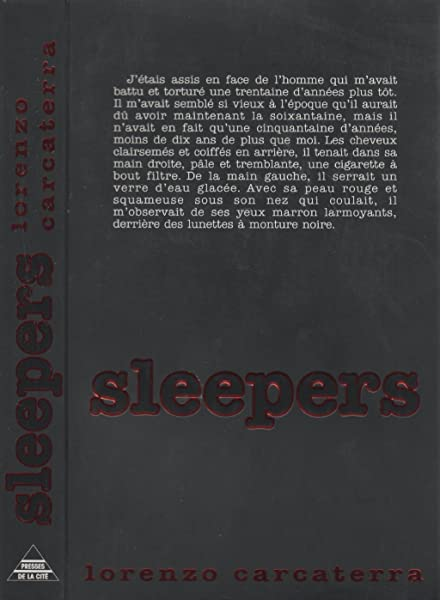 Sleepers Amazon Fr Carcaterra Lorenzo Livres