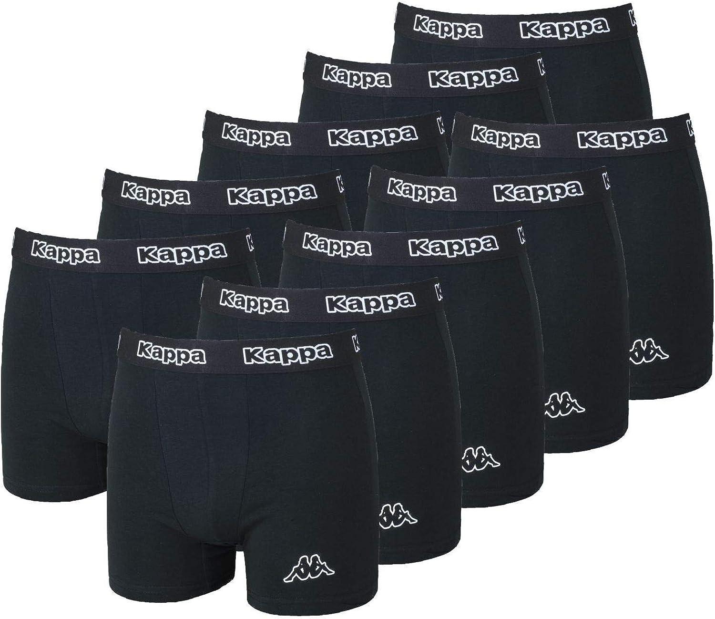 L 5/% Elasthan Gr 10er Set Kappa Boxershorts Unterw/ä sche Boxershort Herren Boxer Short Pants 95/% Baumwolle