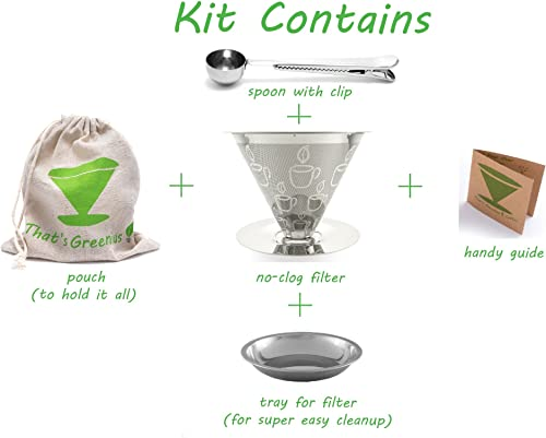 Pour Over Coffee Dripper Kit